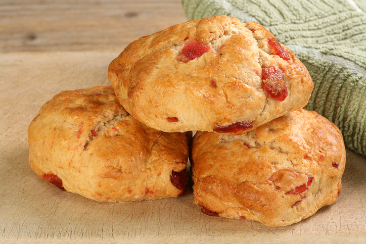 Protected: Wholemeal Cherry Scones