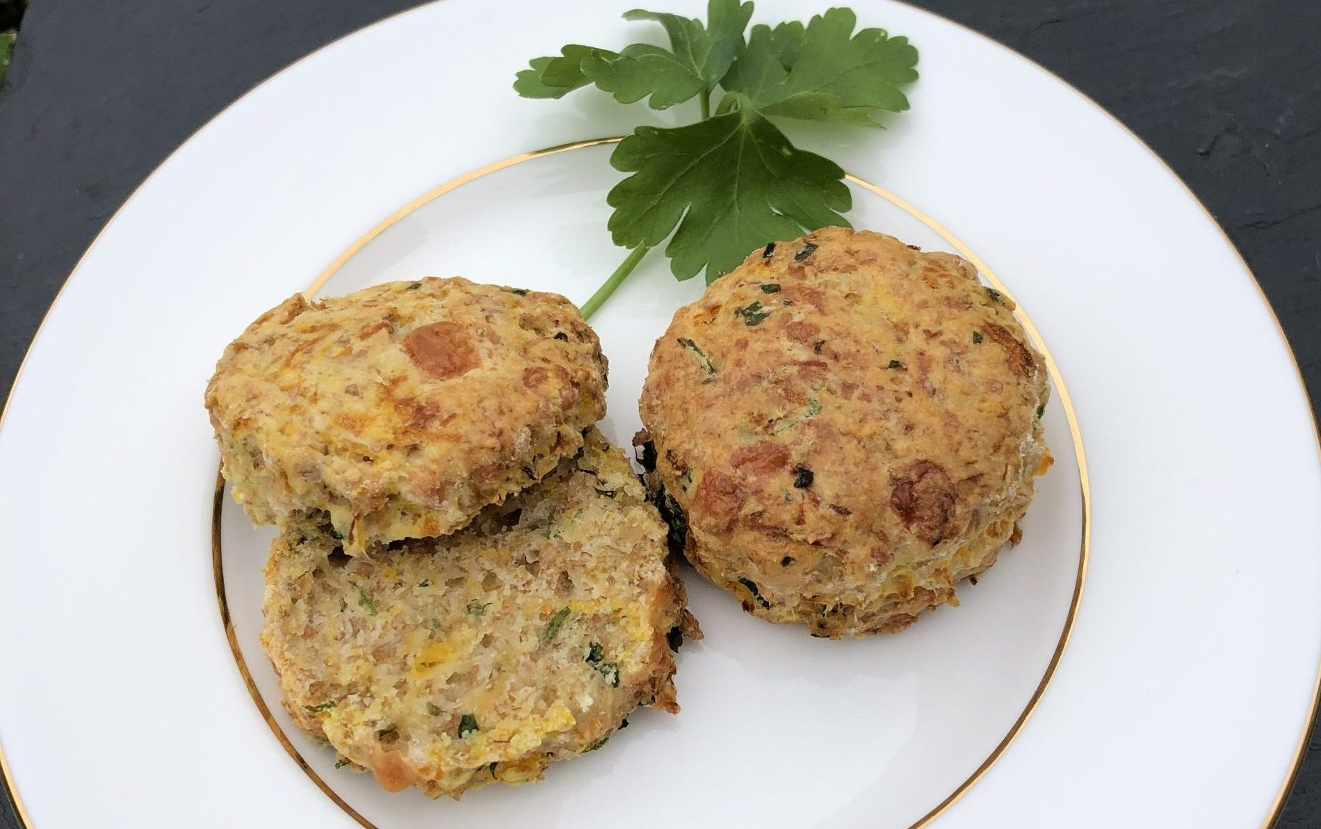 Butternut Squash and Cheese Scones