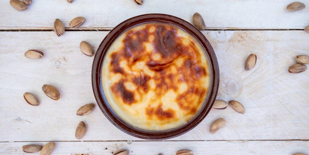 Turkish Rice Pudding (Sutlac)