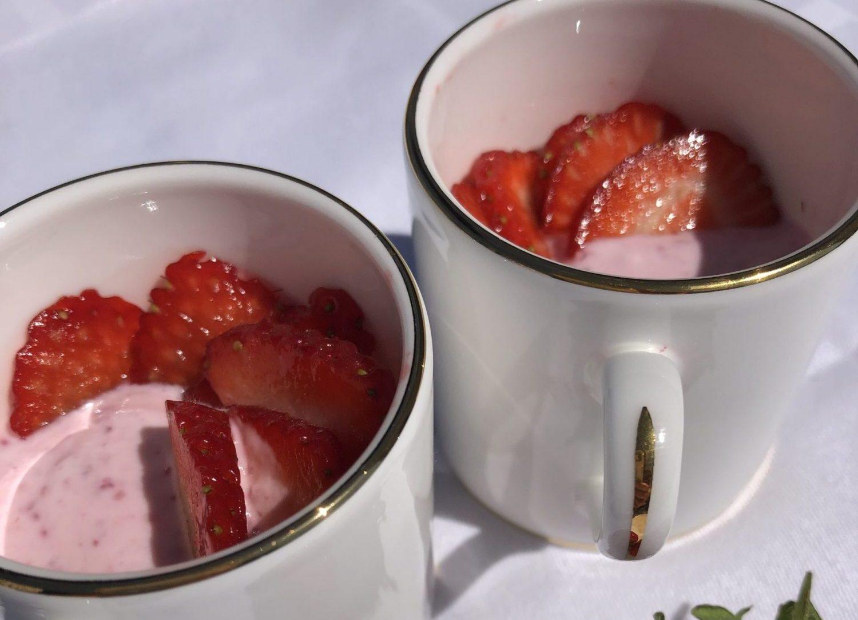 Berry Parfait Cups